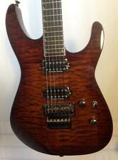 Jackson Pro Series Soloist SL2Q MAH Trans Root Beer Electric Guitar