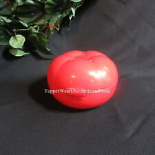 Tupperware NEW RARE Tomato Tomatoe Keeper Forget Me Not Tomatillo Keeper RED