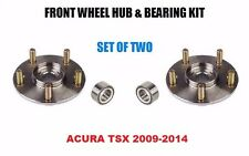 Front Wheel Hub And Bearing Kit Assembly for Acura TSX 2009-2014   PAIR  TWO
