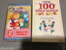 120 Bible & Hymns Songs For Kids!The St Johns Children's Choir 3- Cassettes New