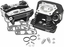 S S CYCLE SUPER STOCK 89 cc CYLINDER HEADS FOR HARLEY DAVIDSON TWIN CAM 106-3240