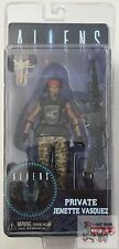 "PRIVATE VASQUEZ MARINE ALIEN Neca ALIENS Series 9 2016 7"" INCH Action FIGURE"