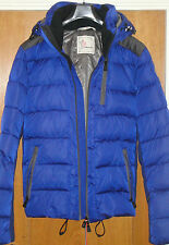 New Moncler Grenoble Soulare Winter Jacket size 5 Royal Blue100% Authentic WOW!!