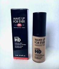 3X 5ml 0.16oz Make Up Forever HD Invisible Cover Foundation Y315 SAND Travel siz