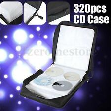 NEW 320 CD DVD DISC ALBUM STORAGE HOLDER CARRY COVER CASE WALLET BAG PROTECTOR