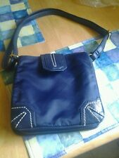 CO-LAB NAVY BLUE MEDIUM NYLON PURSE