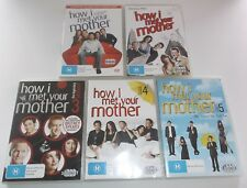 How I Met Your Mother Dvd Series Season 1, 2,3,4 & 5