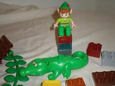 Lego Duplo Peter Pan Alligator Bridge Blocks Figures LOT