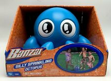 Octopus Garden Hose Sprinkler Blue Splash Sprays Water Outdoor Summer Fun New