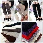 Women Winter Warm Leg Warmers For Women Gaiters Knit Warm Boot Cuffs Socks