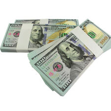 New Version of 100 Dollars Paper Money USA 100pcs Training Collect Learning