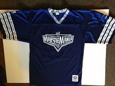 Wrestlemania 22 Football Jersey WWE John Cena Chicago Undertaker Triple H WWF