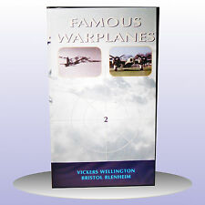 NEW - Famous Warplanes 2 Bombers Wellington Blenheim VHS PAL - Buy 1 Get 1 FREE