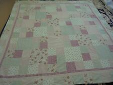 Granny Square Pieced Pattern W/Frame Quilt