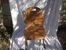 chaise   Métal et bois   vintage année  70 loft industriel   n 1154