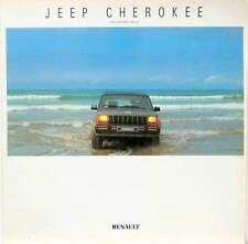 1988 JEEP CHEROKEE  RENAULT CATALOGUE