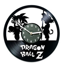 Record Clock Wall Clock Creative Gift Dragon Ball Z Anime