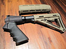 Mesa Tactical & Magpul Kit Pardner Pump Tan Pistol Grip 6 Position Stock Grip