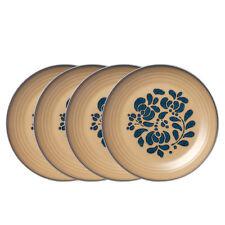 Pfaltzgraff Set of 4 Luncheon Plates Folk Art