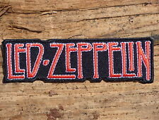 ECUSSON PATCH THERMOCOLLANT aufnaher toppa LED ZEPPELIN groupe musique /11X3.1CM