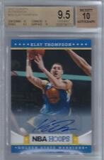 2012-13 Klay Thompson Panini Hoops Auto RC... BGS 9.5 Gem Mint w/10 subs & auto
