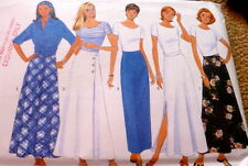 LOVELY NEW SKIRTS BUTTERICK Sewing Pattern 6-8-10 UNCUT
