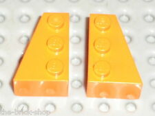 LEGO Star Wars Orange wedges ref 6564 & 6565 / set 6740 7171 7686 6520
