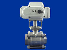 motorized valve DN50 (reduce port) 2 way, 220v, stainless steel, electric valve