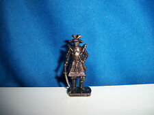 SAMURAI WARRIOR #3 Sword DARK BRONZE Kinder Surprise Metal Soldier Figure SCAME