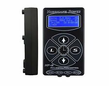 Free ship Hurricane HP-2 Black Dual Digital LCD Tattoo Power Supply- New Version
