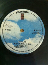 "EAGLES take it to the limit/after the thrill ULTRA RARE SINGLE 7"" 45 INDIA VG+"