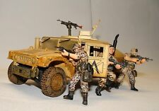 1:32 Forces of Valor Die Cast U.S Army Humvee Vehicle Soldier w Figures Iraq War
