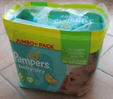 Pack Pampers Baby-Dry Windeln Gr.6, XL extra large, (16+ kg) 64 Stück