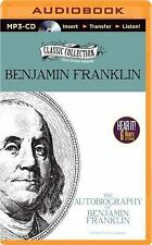The Autobiography of Benjamin Franklin by Benjamin Franklin (2014, MP3 CD,...
