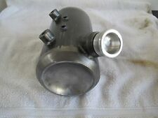 Custom Chopper  Bobber Oil Tank, Tinworks inc 5in side fill kegged ends