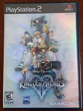 KINGDOM HEARTS II - PLAYSTATION 2/PS2 -BLACK LABEL- COMPLETE WITH MANUAL!!