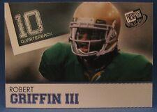 ROBERT GRIFFIN III 2012 PRESS PASS BLUE #20 WASHINGTON REDSKINS ROOKIE CARD