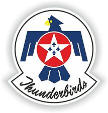 1x STICKER THUNDERBIRDS decal US AIR FORCE UNITED