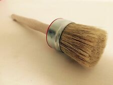 Wax and Chalk Paint Brush 50mm Round Paintbrush 50mm Shabby Chic Brush