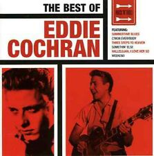 Best Of Eddie Cochran - Eddie Cochran (2005, CD NEUF)2 DISC SET