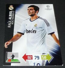 RAUL ALBIOL REAL MADRID UEFA PANINI FOOTBALL CHAMPIONS LEAGUE 2012 2013