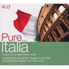 PURE...ITALIA 4 CD NEU MIT EROS RAMAZZOTTI, DRUPI UVM.