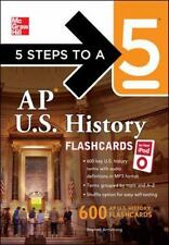 5 Steps to a 5 AP U.S. History Flashcards for Your iPod with MP3/CD-ROM Disk 5