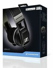 Sennheiser URBANITE ON-EAR CUFFIE in Nero Per iPhone iPod iPad Apple iOS