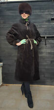 EDLER- MANTEL LUXURY PETER HAHN 100 % ALPAKA FUR COAT 19 GREAT NATURHAAR TOP