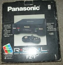 Panasonic 3DO FZ-1 R.E.A.L. Black Console Complete in Box #3D2