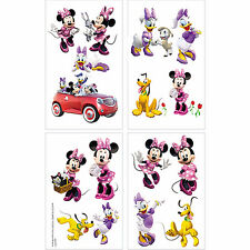 Disney Minnie Mouse Tattoos Birthday Party Favors Supply-Party Bag Fillers 16ct.