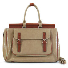 OVERSIZED Weekend Bag Tote Weekender European Big Fashion Handbag Khaki Brown
