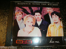 SIXPENCE NONE THE RICHER cd single KISS ME free US shipping