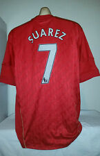 LIVERPOOL *Suarez 7* Football Shirt Top  XL Camiseta Jersey Barcelona Uruguay